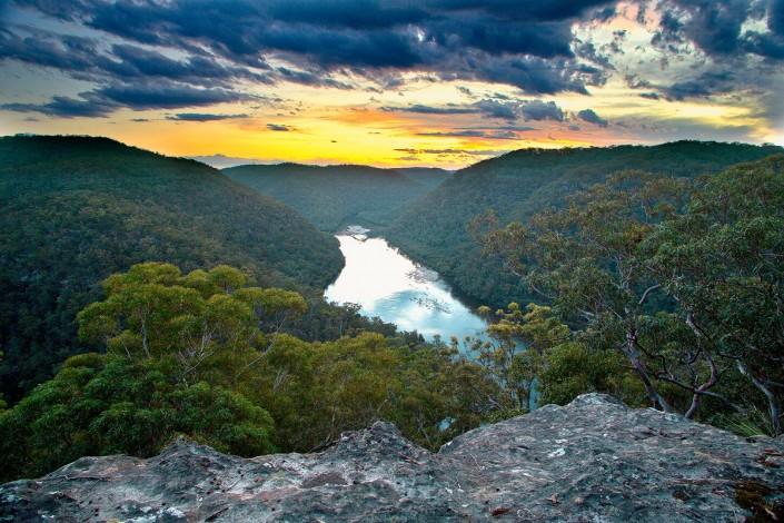 Berowra, Berowra Valley Regional Park, Berowra Waters, Sunset, Landscape Photography, Naa Badu, Great North Walk
