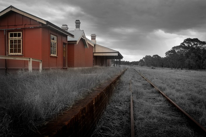 Andrew Barnes Landscape Photography - Lue Station - Outback Photography