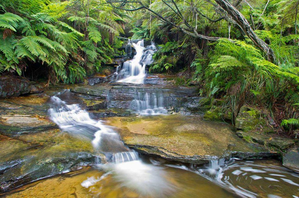Upper Leura Falls, Andrew Barnes Landscape Photography