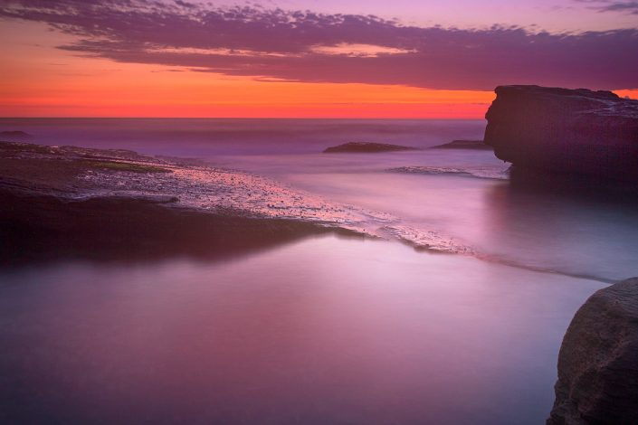 Red Dawn Glass, Skillion, Terrigal, Central Coast, The Haven