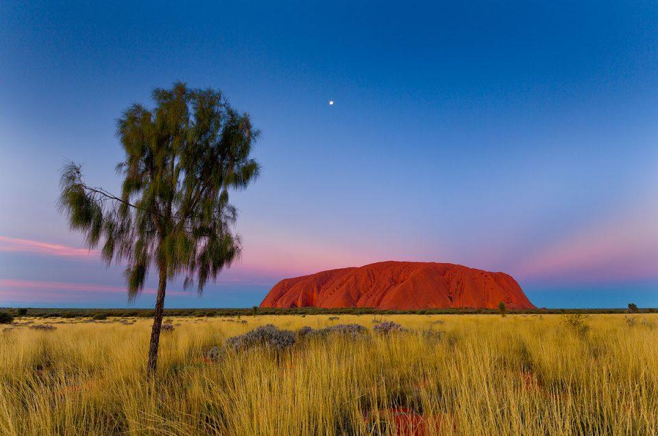 Uluru, Outback, Sunset, Red Centre, Australian Landscape Photography, Outback Photography