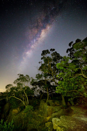 Milky Way, Berowra, Berowra Valley National Park, Berowra Waters, Sunset, Landscape Photography, Landscape Photography Sydney