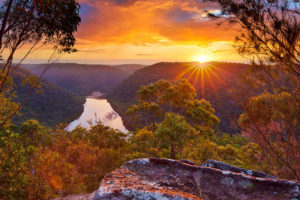 Sunset at Barnetts Lookout