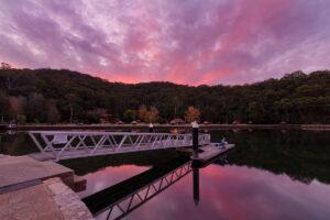 Fantastic colours at Sunset at Bobbin Head in Kuring-gai Chase National Park