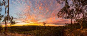 Widewiew Wonder - a majestic sunset in Berowra
